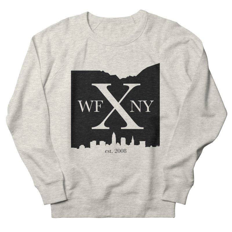 WFNYX Cleveland Skyline Men's French Terry Sweatshirt by WFNY - WaitingForNextYear