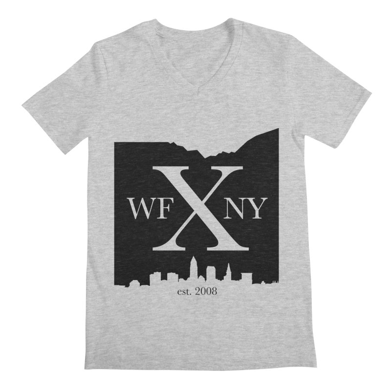 WFNYX Cleveland Skyline Men's V-Neck by WFNY - WaitingForNextYear