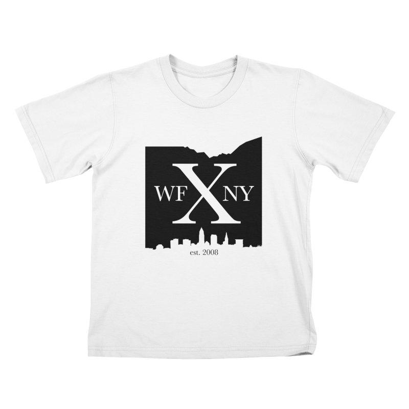 WFNYX Cleveland Skyline Kids T-Shirt by WFNY - WaitingForNextYear