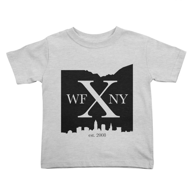 WFNYX Cleveland Skyline Kids Toddler T-Shirt by WFNY - WaitingForNextYear