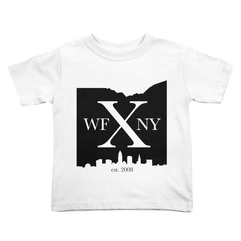 WFNYX Cleveland Skyline Kids Toddler T-Shirt by WFNY - WaitingForNextYear