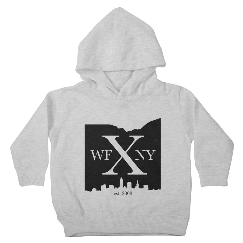 WFNYX Cleveland Skyline Kids Toddler Pullover Hoody by WFNY - WaitingForNextYear