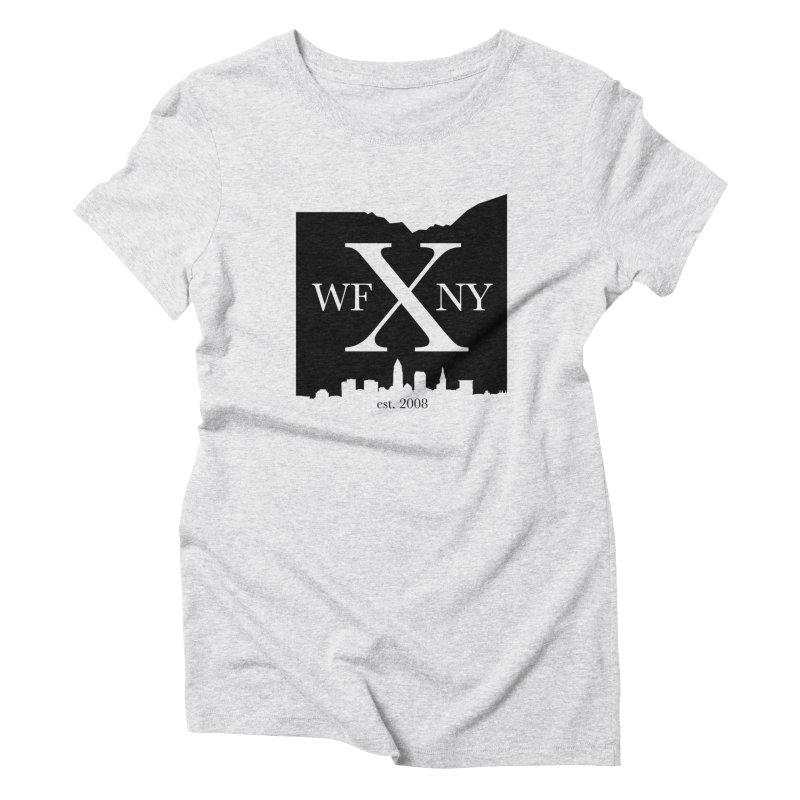 WFNYX Cleveland Skyline Women's T-Shirt by WFNY - WaitingForNextYear