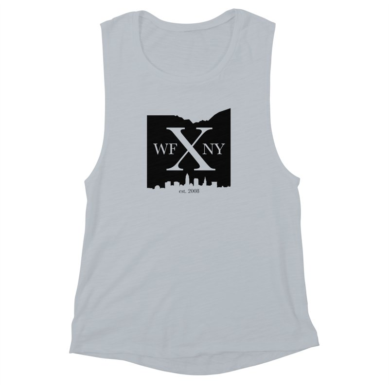 WFNYX Cleveland Skyline Women's Muscle Tank by WFNY - WaitingForNextYear