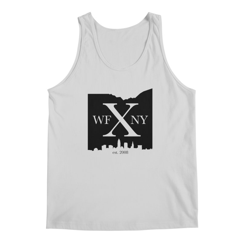 WFNYX Cleveland Skyline Men's Regular Tank by WFNY - WaitingForNextYear