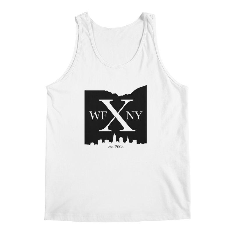 WFNYX Cleveland Skyline Men's Regular Tank by WFNY - WaitingForNextYear