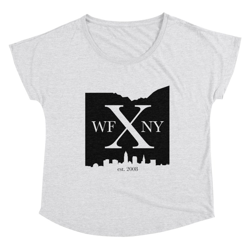 WFNYX Cleveland Skyline Women's Scoop Neck by WFNY - WaitingForNextYear