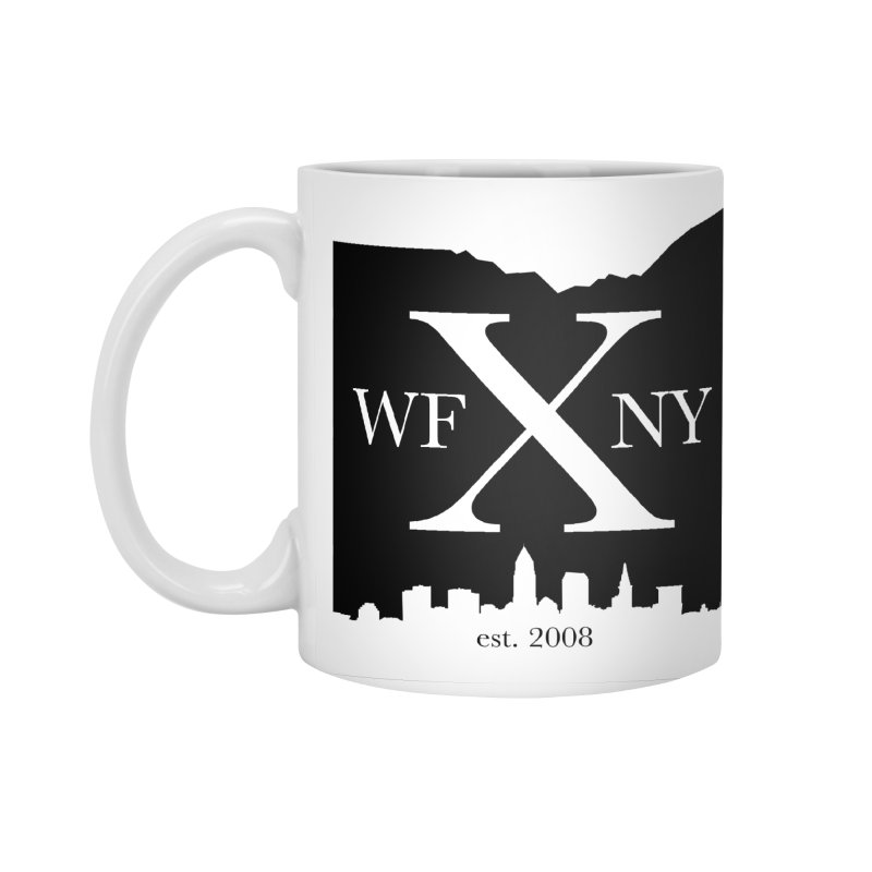 WFNYX Cleveland Skyline Accessories Standard Mug by WFNY - WaitingForNextYear