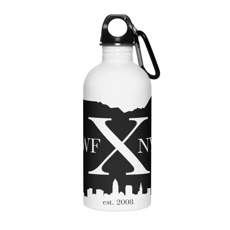 WFNYX Cleveland Skyline Accessories Water Bottle by WFNY - WaitingForNextYear