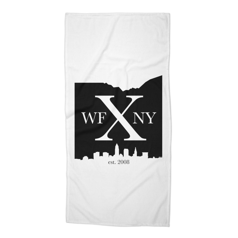 WFNYX Cleveland Skyline Accessories Beach Towel by WFNY - WaitingForNextYear