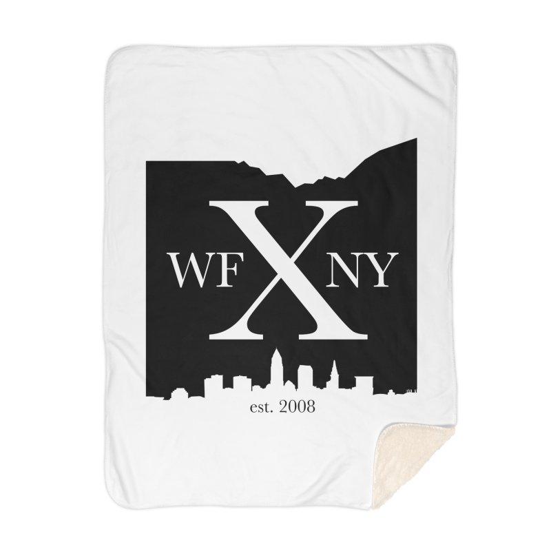 WFNYX Cleveland Skyline Home Blanket by WFNY - WaitingForNextYear