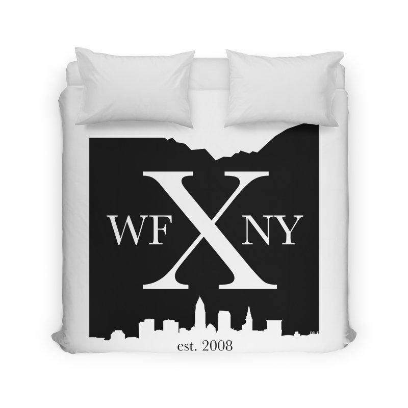 WFNYX Cleveland Skyline Home Duvet by WFNY - WaitingForNextYear