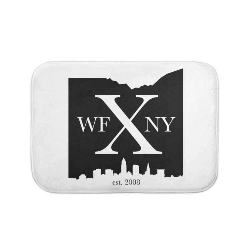 WFNYX Cleveland Skyline Home Bath Mat by WFNY - WaitingForNextYear