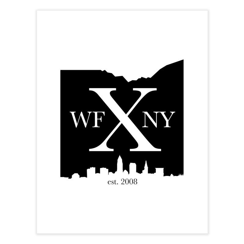WFNYX Cleveland Skyline Home Fine Art Print by WFNY - WaitingForNextYear