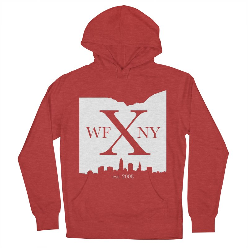 WFNY X Skyline Light Women's French Terry Pullover Hoody by WFNY - WaitingForNextYear