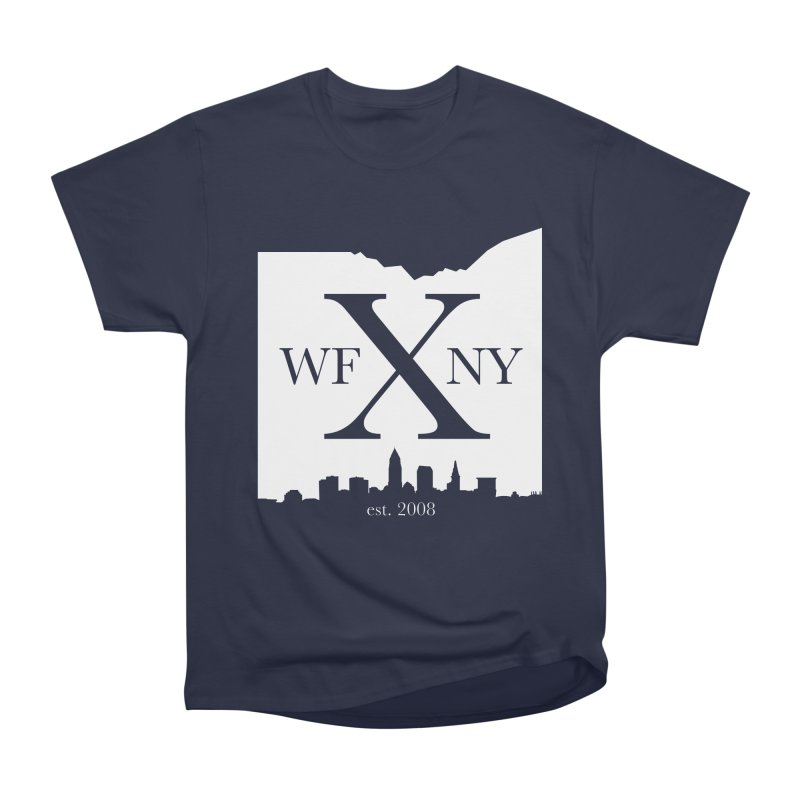 WFNY X Skyline Light Women's Heavyweight Unisex T-Shirt by WFNY - WaitingForNextYear