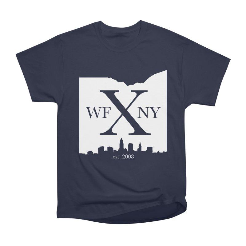 WFNY X Skyline Light Men's Heavyweight T-Shirt by WFNY - WaitingForNextYear