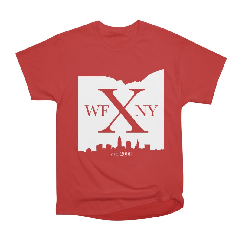 WFNY X Skyline Light Women's Heavyweight Unisex T-Shirt by WFNY - WaitingForNextYear