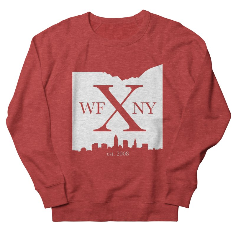 WFNY X Skyline Light Men's French Terry Sweatshirt by WFNY - WaitingForNextYear