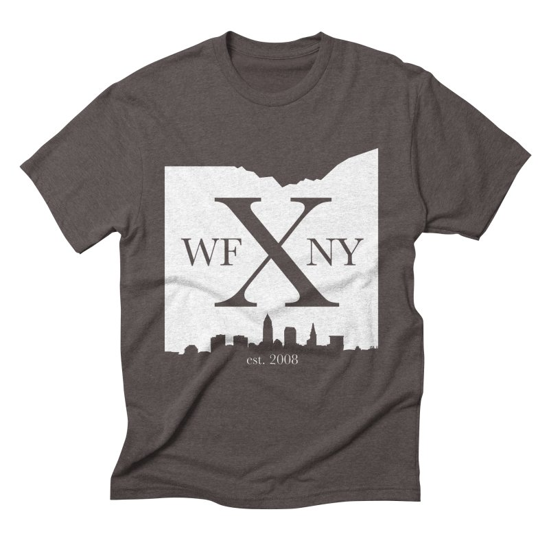 WFNY X Skyline Light Men's Triblend T-Shirt by WFNY - WaitingForNextYear