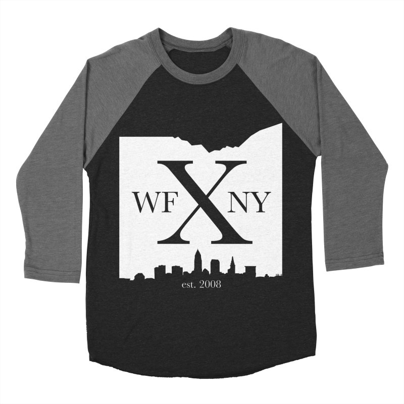 WFNY X Skyline Light Women's Baseball Triblend Longsleeve T-Shirt by WFNY - WaitingForNextYear