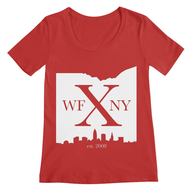 WFNY X Skyline Light Women's Regular Scoop Neck by WFNY - WaitingForNextYear