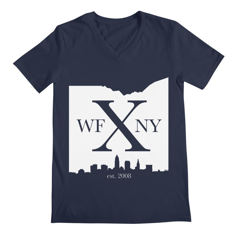WFNY X Skyline Light Men's V-Neck by WFNY - WaitingForNextYear
