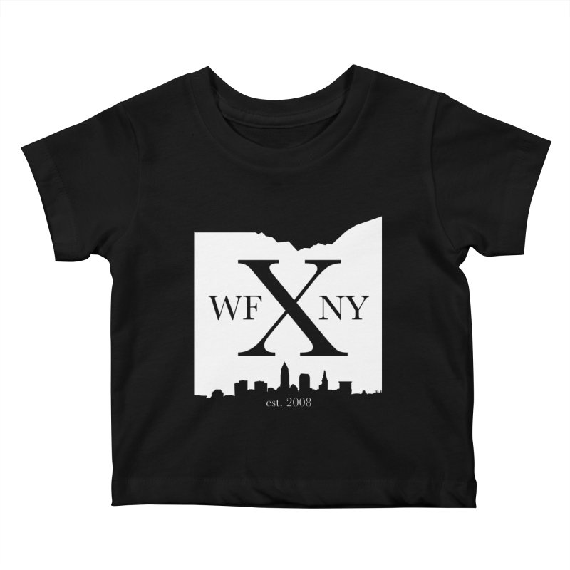 WFNY X Skyline Light Kids Baby T-Shirt by WFNY - WaitingForNextYear