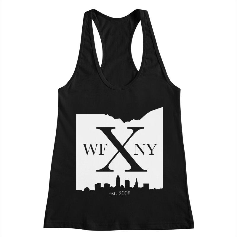 WFNY X Skyline Light Women's Racerback Tank by WFNY - WaitingForNextYear