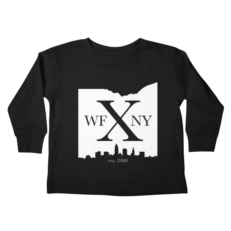 WFNY X Skyline Light Kids Toddler Longsleeve T-Shirt by WFNY - WaitingForNextYear