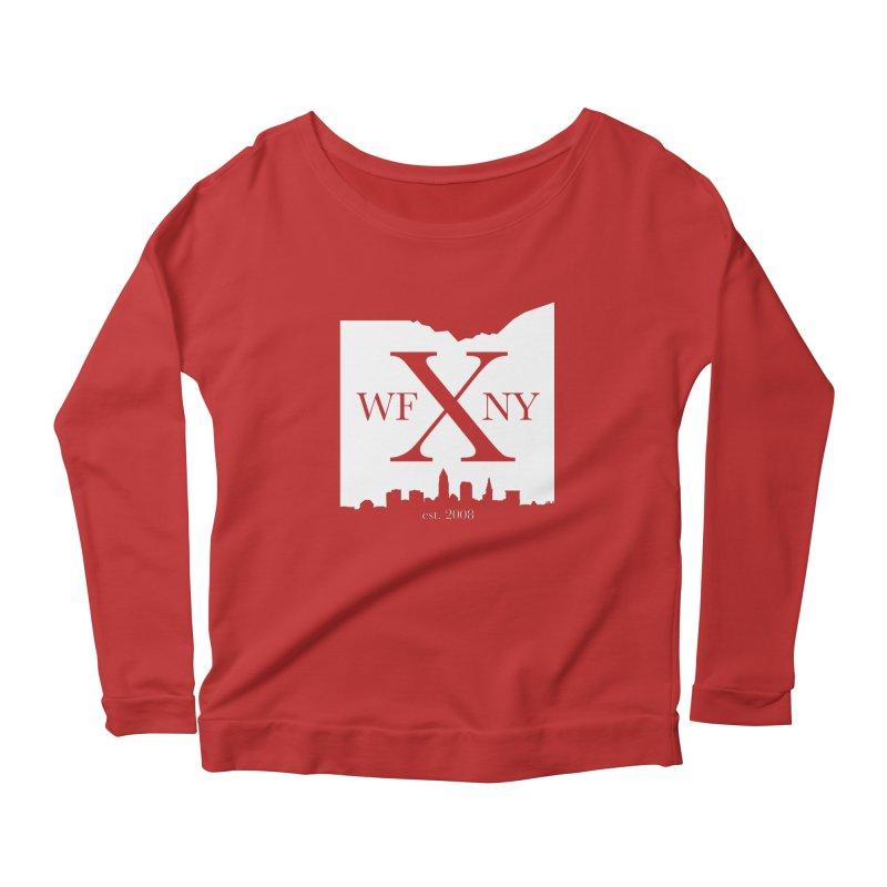 WFNY X Skyline Light Women's Scoop Neck Longsleeve T-Shirt by WFNY - WaitingForNextYear
