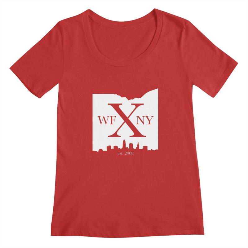 WFNY X Skyline Light Women's Regular Scoop Neck by WFNY - WaitingForNextYear