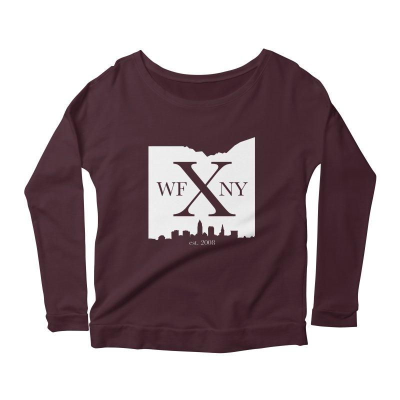 WFNY X Skyline Light Women's Longsleeve T-Shirt by WFNY - WaitingForNextYear
