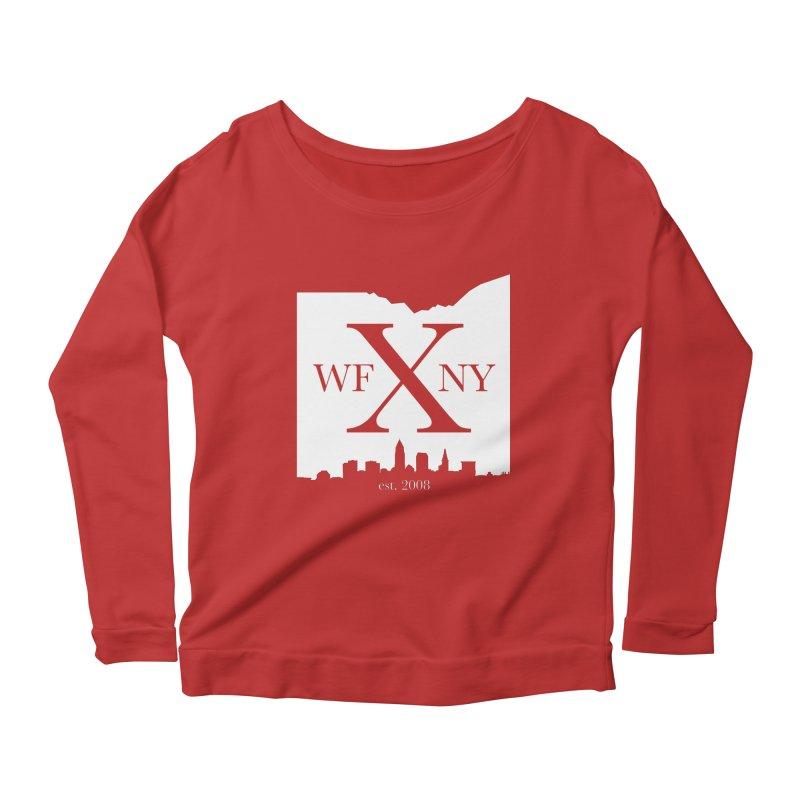 WFNY X Skyline Light Women's Longsleeve Scoopneck  by WFNY - WaitingForNextYear