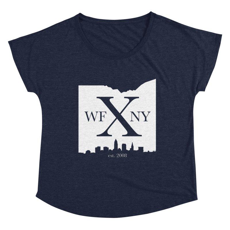 WFNY X Skyline Light Women's Dolman Scoop Neck by WFNY - WaitingForNextYear