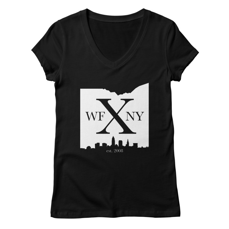 WFNY X Skyline Light Women's Regular V-Neck by WFNY - WaitingForNextYear