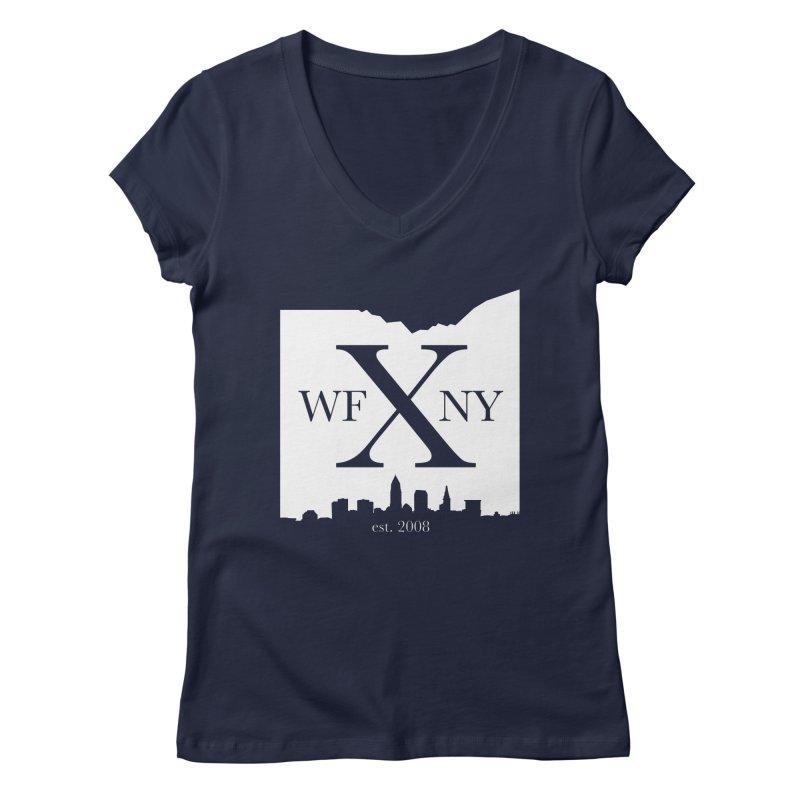 WFNY X Skyline Light Women's V-Neck by WFNY - WaitingForNextYear