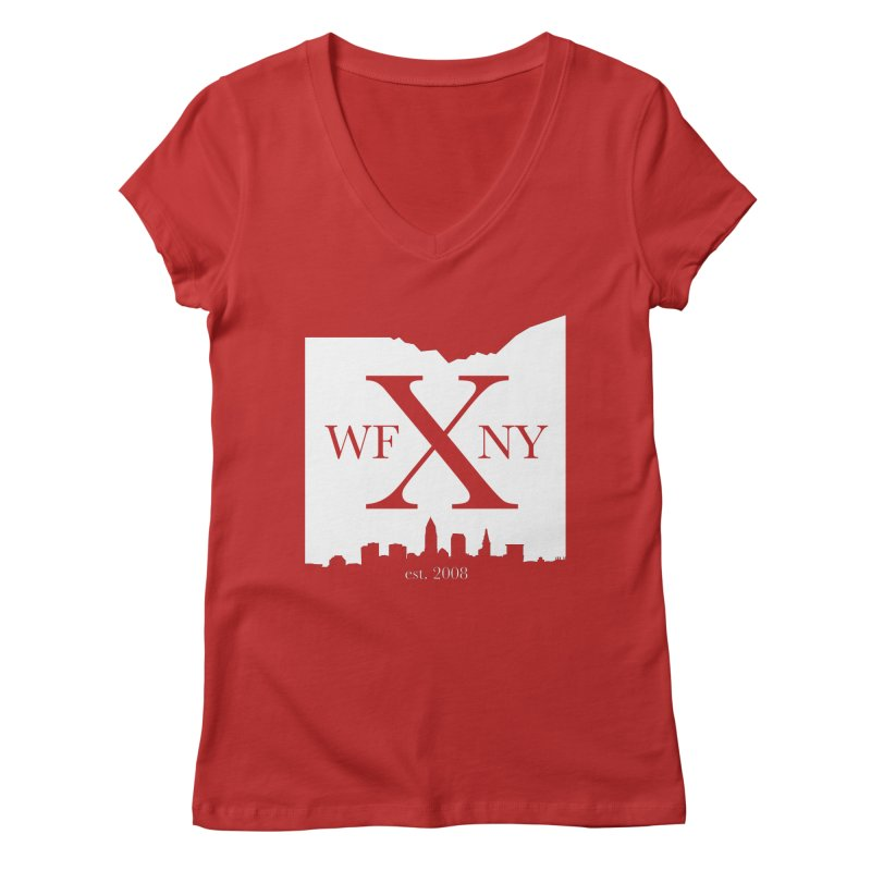 WFNY X Skyline Light Women's V-Neck by WFNY - WaitingForNextYear