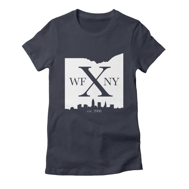 WFNY X Skyline Light Women's Fitted T-Shirt by WFNY - WaitingForNextYear