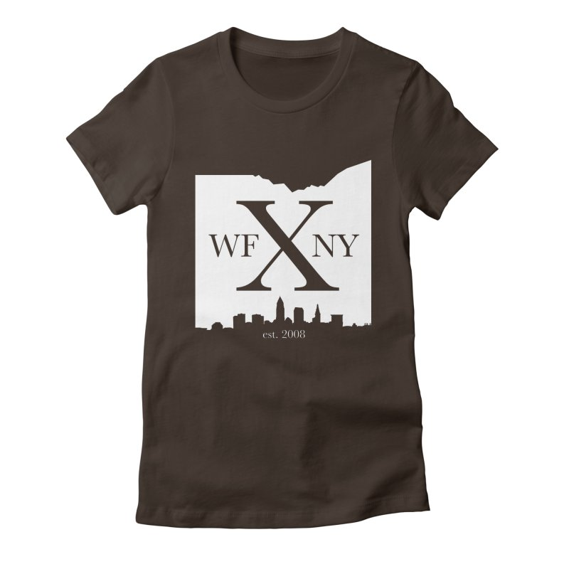 WFNY X Skyline Light Women's Fitted T-Shirt by WFNY - WaitingForNextYear