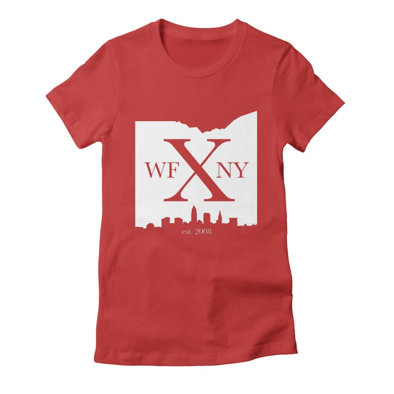 WFNY X Skyline Light Women's T-Shirt by WFNY - WaitingForNextYear