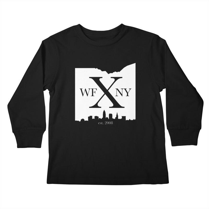 WFNY X Skyline Light Kids Longsleeve T-Shirt by WFNY - WaitingForNextYear
