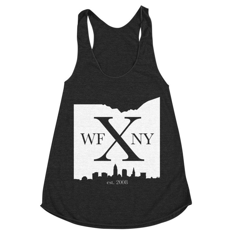 WFNY X Skyline Light Women's Racerback Triblend Tank by WFNY - WaitingForNextYear