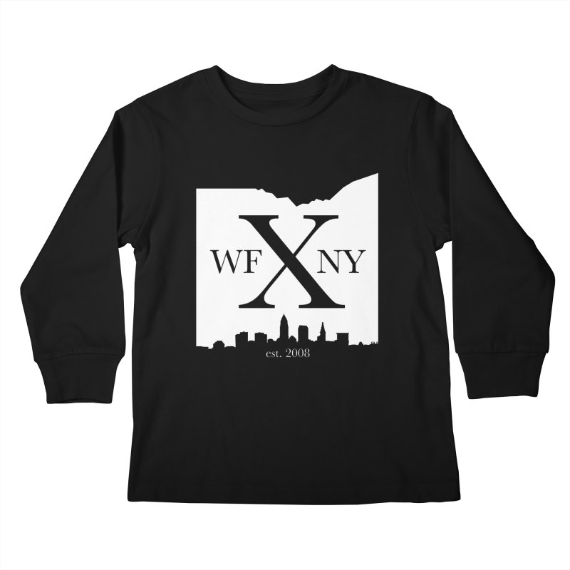 WFNY X Skyline Light Kids Longsleeve T-Shirt by WFNY - WaitingForNextYear