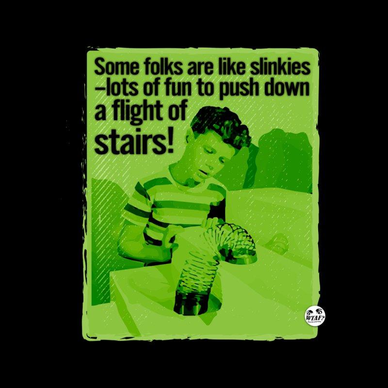 Slinkies Men's Longsleeve T-Shirt by WTAFGear's Artist Shop