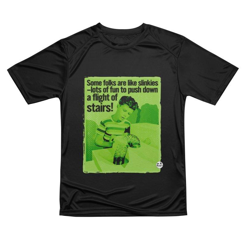 Slinkies Men's T-Shirt by WTAFGear's Artist Shop