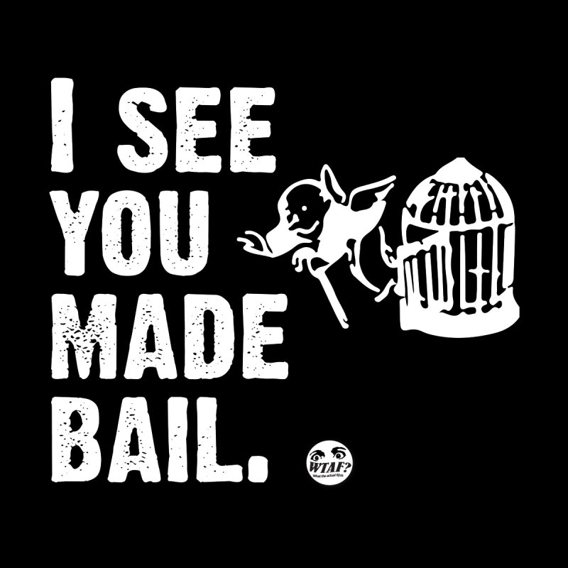 You made bail Men's Longsleeve T-Shirt by WTAFGear's Artist Shop