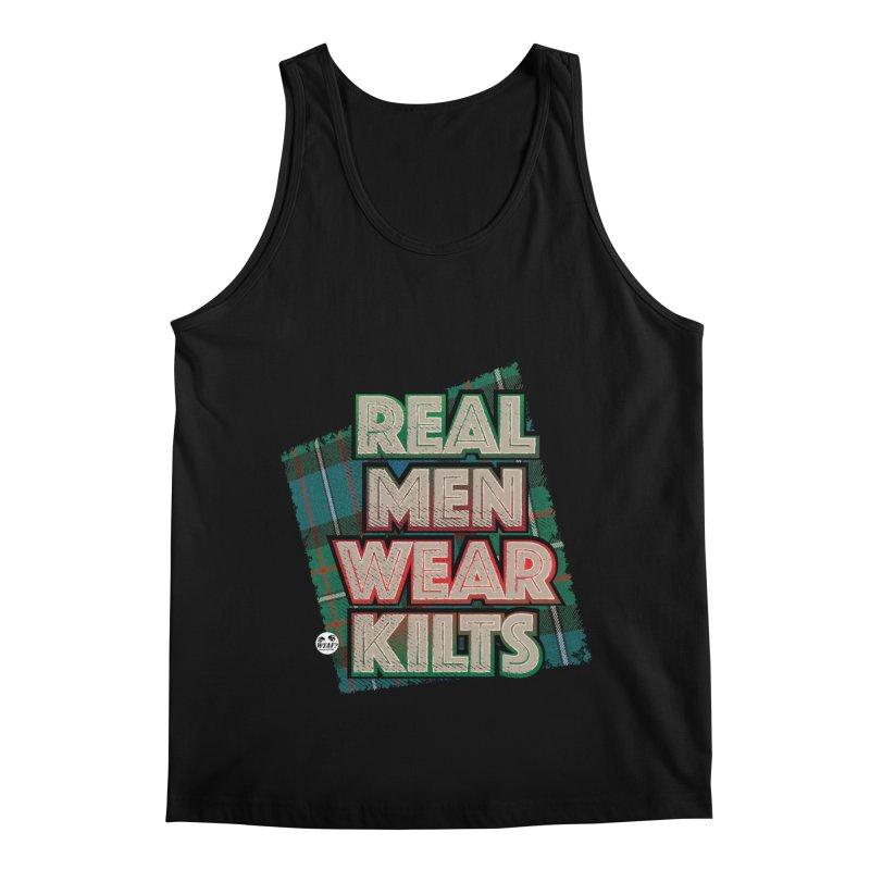 Real men wear kilts Men's Regular Tank by WTAFGear's Artist Shop