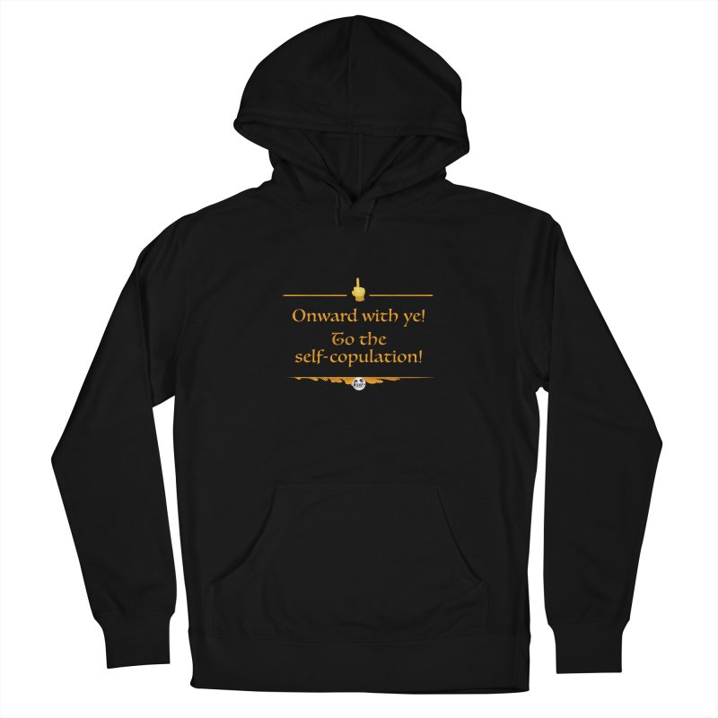 Self-copulation Women's Pullover Hoody by WTAFGear's Artist Shop