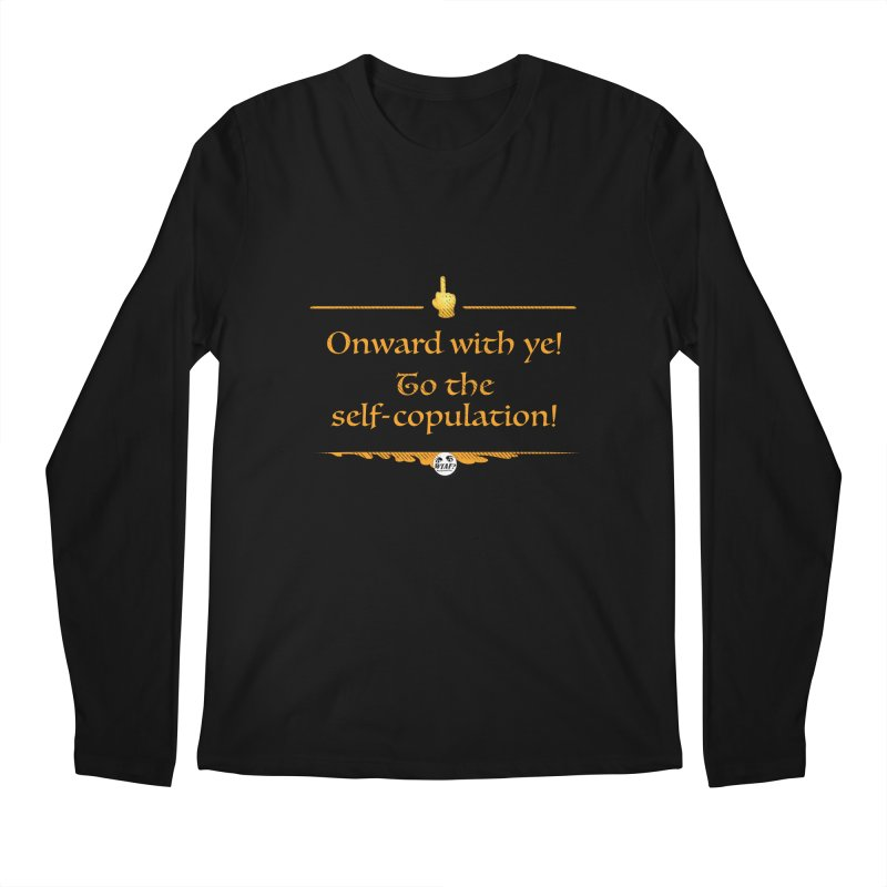 Self-copulation Men's Longsleeve T-Shirt by WTAFGear's Artist Shop